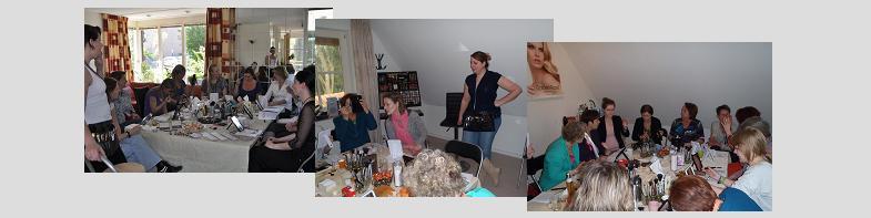 Collage Make-up workshops