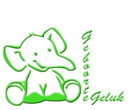 Logo geboorte Geluk